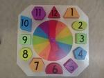 85: Wooden clock puzzle