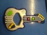 104: Sparkly blue guitar