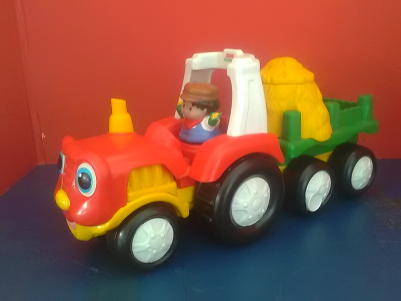 168: Fisher Price Tractor