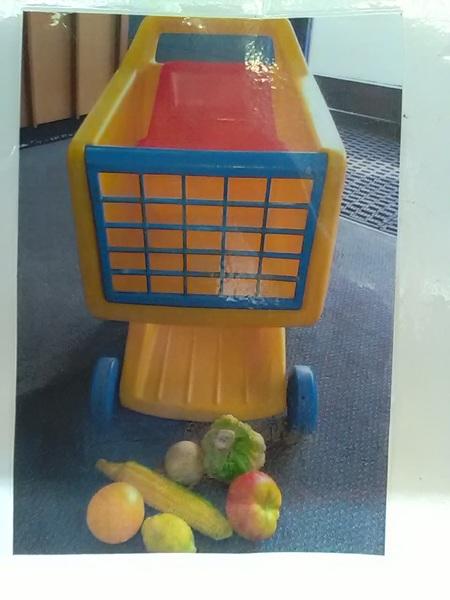 28: Shopping Cart & Groceries