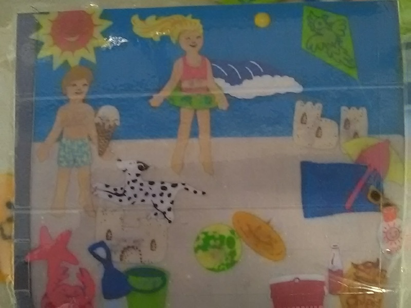324: Felt Kids Beach Party