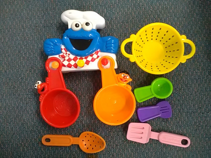 398: Cookie Monster Pots and Pans