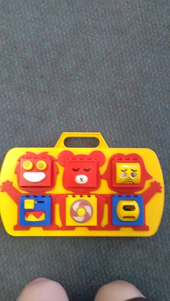 50: Touch n Learn Cot Toy