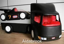 63: race car transporter