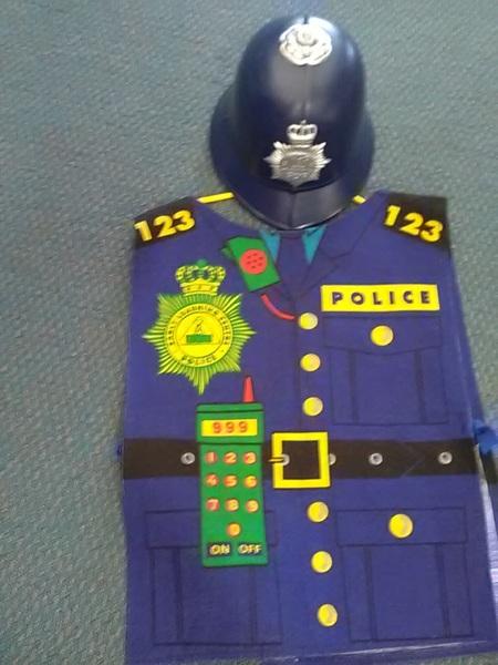 675: Police Helmet and Tunic