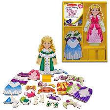 700: Princess Elise - Magnetic Dressing Doll