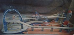 851: Space Train Set