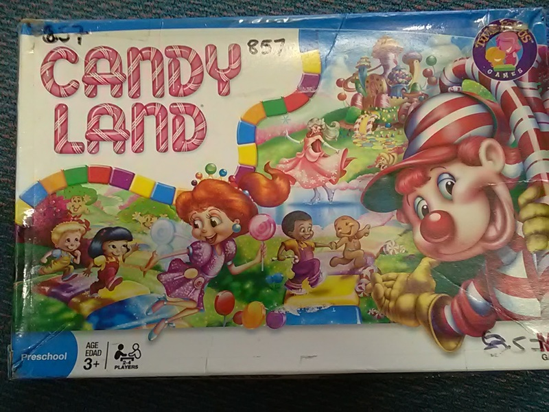 857: Candy Land Game