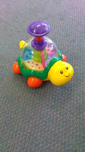 1037: Push & Go Turtle