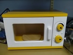 1122: Wooden Microwave