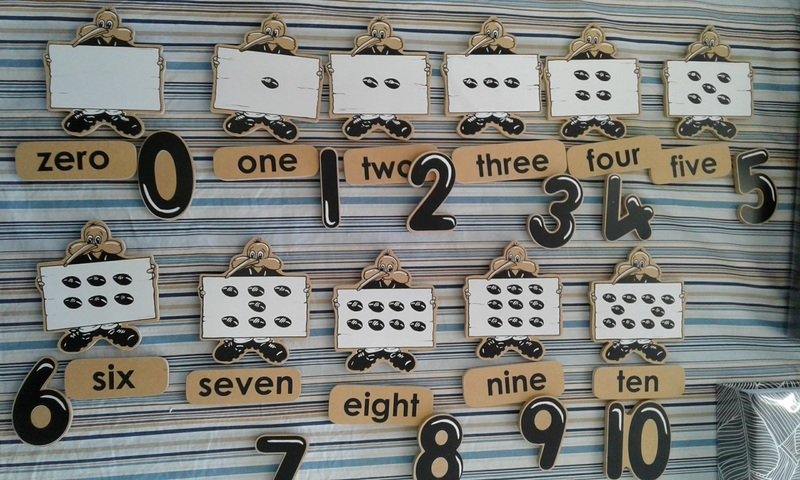 1124: Magnetic Counting Set - Numbers