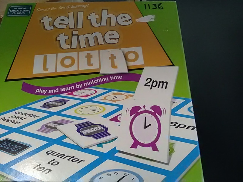 1136: Tell the time game