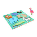 P003: Chunky Wooden Animal Puzzle