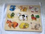P019: Farm Animal Puzzle