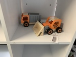 IMP004: Wooden Truck and Digger