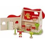 IMP012: Wooden fairytale dollhouse