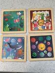 P007: Set of 9 piece puzzles