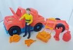 7: Playskool Maintenance Man Car and Trailer