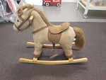A2: Brown Rocking Horse