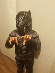 D3: Black Panther Costume