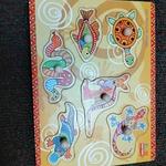 J46: Chunky knob puzzle - Australian animals