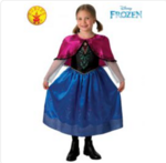 D30: Anna deluxe frozen costume Size 3-5 yrs