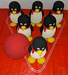A38: Penguin Bowling Set