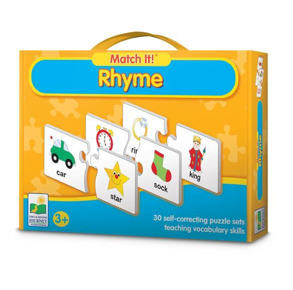 JIG517: The Learning Journey Match It Rhyme Puzzle