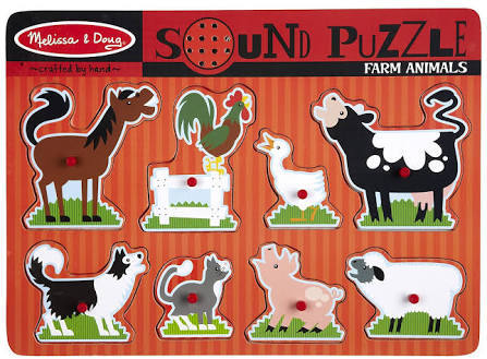 JIG6: Farm Animals Sound Puzzle