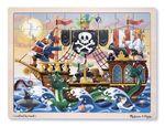 JIG42: Pirate Adventure Wooden Jigsaw