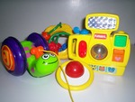 B016: 4 baby toys