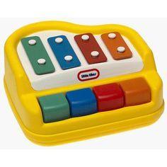 M744: Baby tap-a-tune piano
