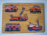 P021: 2 Vehicle Inset Boards