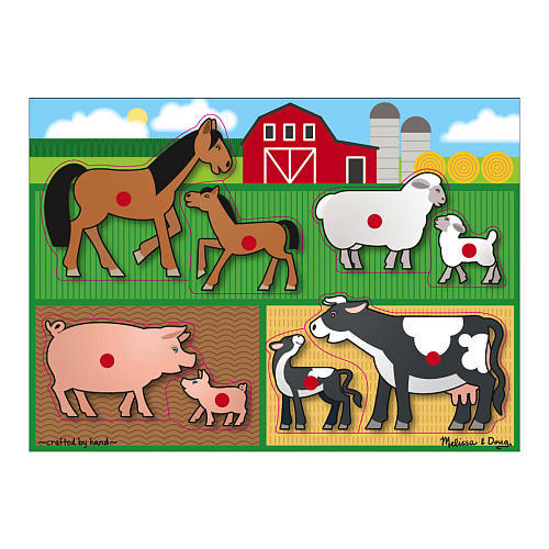 P331:  2 Inset Puzzles - Houses and Animals