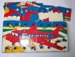P390: 3 Layer 'Look Inside' Puzzle - Plane