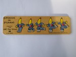 P571: bananas in pjs inset board