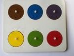 P973: Circle Inset Board