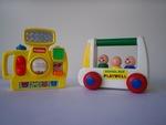 B769: Bus, Car and Camera Toys