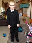 E901: 3 Piece Suit with Tie Dress Up
