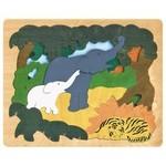 P454: Asian Animals Puzzle