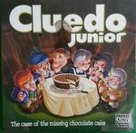 G025: Cluedo Junior Game