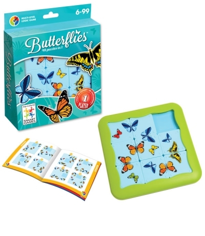 G416: Butterflies Puzzle Game