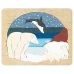 P494: Arctic Animals Double Layer Puzzle