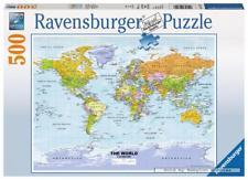 P526: 500 piece Puzzle - World Map