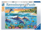 P534: 500 piece Puzzle - Dolphin Cove