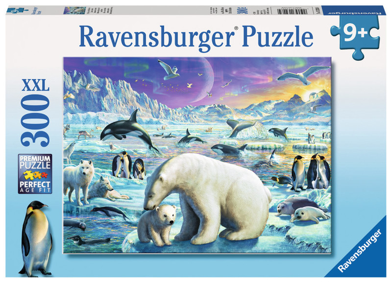 P539: 300 piece Puzzle - Meet the Polar Animals
