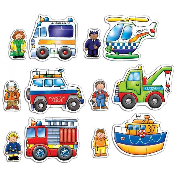 P548: 6 Rescue Squad Puzzles
