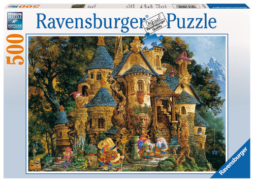 P085: 500 piece Puzzle - College of Magic
