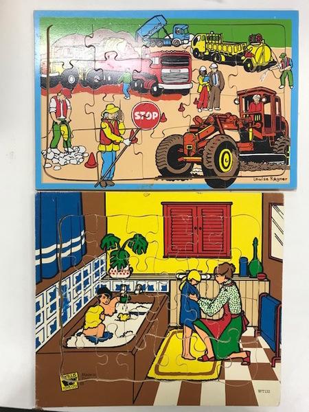 P625: Construction Site and Bathtime Puzzles