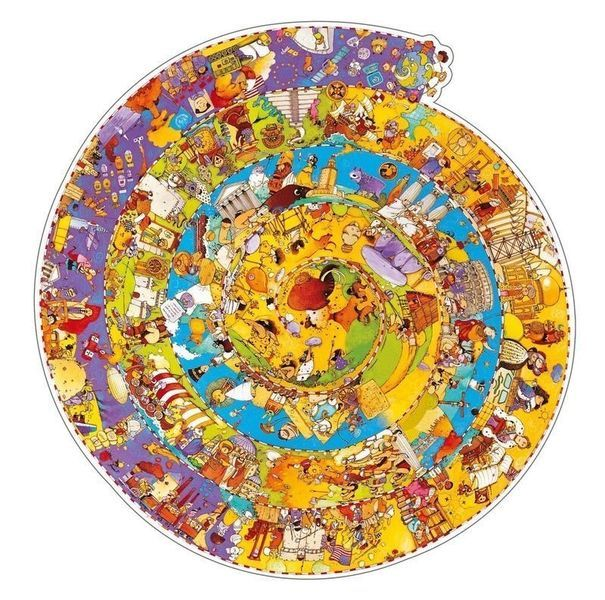P643: 350 piece Puzzle - Observation - History